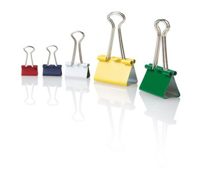 OfficeMax Binder clips (Multi Colored) ()