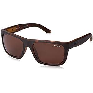 Arnette Dropout  Sport Sunglasses,Fuzzy Havana/Gloss Black/Brown,55 mm
