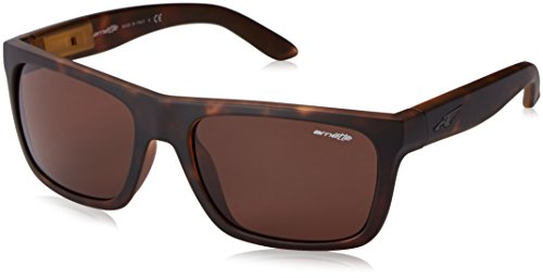 Arnette Dropout  Sport Sunglasses,Fuzzy Havana/Gloss Black/Brown,55 - Amazon Arnette Sunglasses