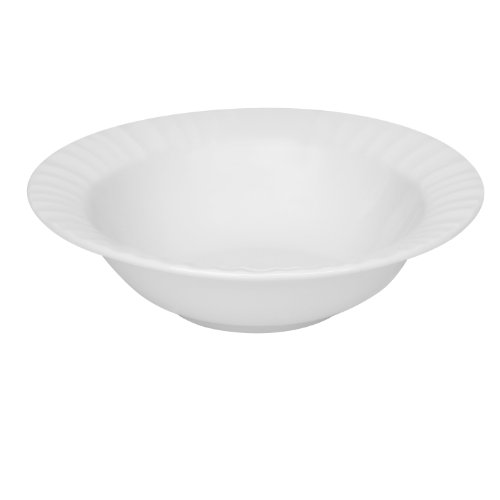 Corningware French White 8-Inch Rimmed Soup/Cereal Bowl