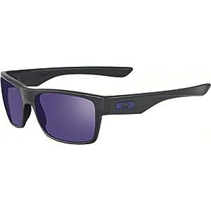 Oakley Men's Twoface (a) 0OO9256 Non-polarized Iridium Rectangular Sunglasses, MATTE BLACK, 60.02 mm