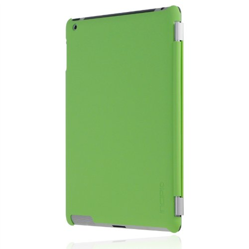 Incipio iPad 2 Smart Feather - Back Cover Only - Ultralight Hard Shell Case - Lime