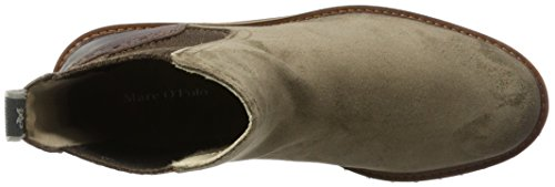 Marc OPolo Damen Flat Heel Chelsea 70814235001312 Boots Braun (Taupe)