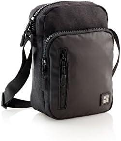 Miquel Rius Messenger Bag, Black (Black) - 16817