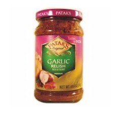 Patak's Original Garlic Relish 10oz (3 Packages)