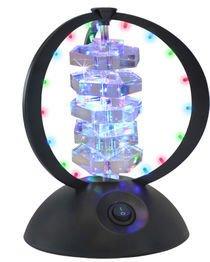 Floor Black Lumisource Lamp (LumiSource LS-DISCOPL HEX Disco Crystal Hex)