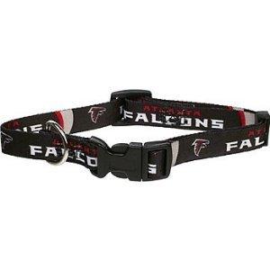 Hunter MFG Atlanta Falcons Dog Collar, Small