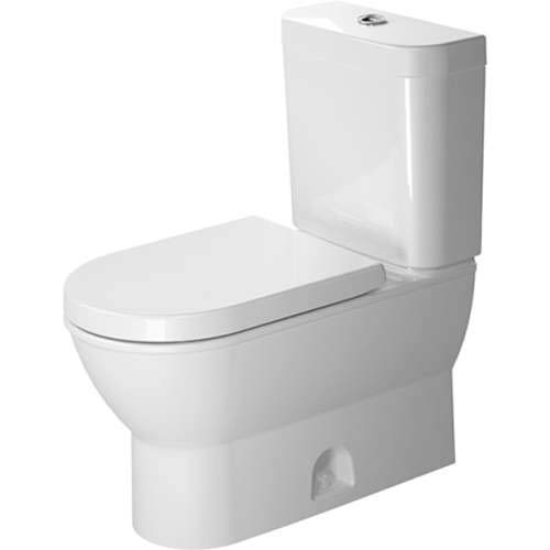 - Duravit Darling New Elongated Two Piece Toilet D2101000 White