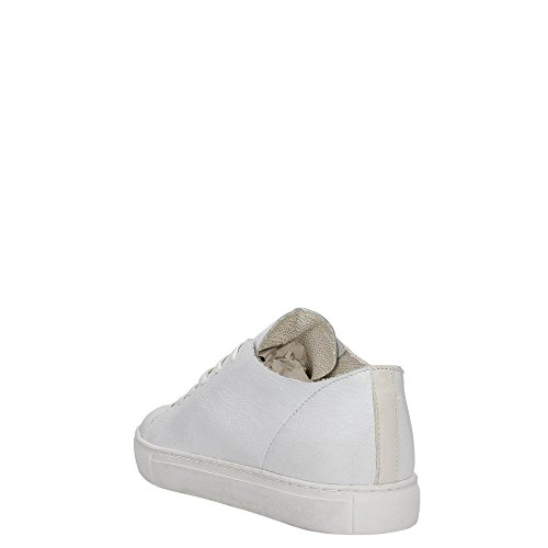 Crime London 11284S17B Sneakers Hombre BIANCO 44