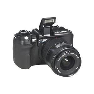 Olympus Evolt E300 8MP Digital SLR with 14-45mm f/3.5-5.6 & 40-150mm f/3.5-4.5 Zuiko Lenses