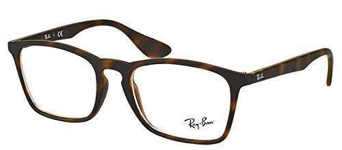 Ray-Ban 0RX7045 Brown One Size (Rayban Goggle)