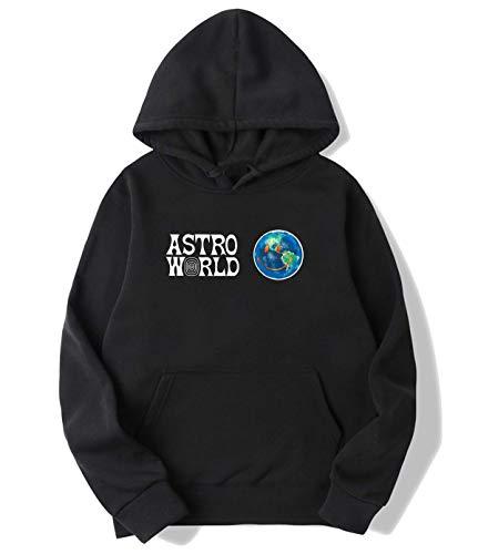 Travis Scotts ASTROWORLD Hoodies Sweater for Women Black XL