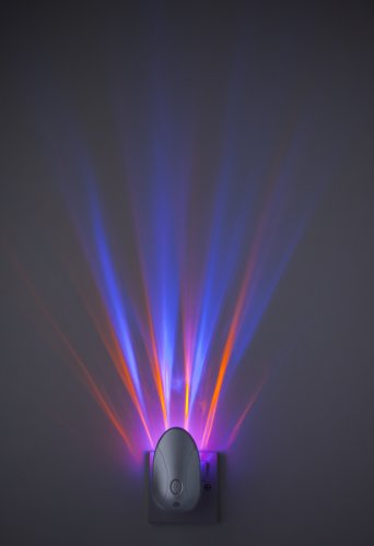 Firstlight Products Projector Night Silver With Colour Changing Led