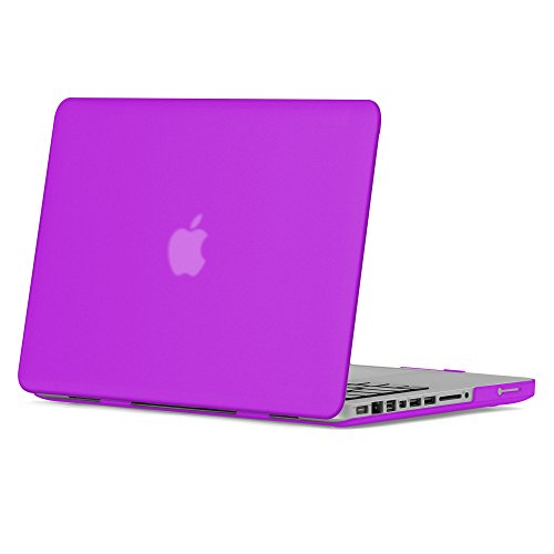 GMYLE Deep Purple Soft-Touch Matte Plastic Hard Case for Old MacBook Pro 13 inch with CD-ROM (Model: A1278) [2009-2014 Release]
