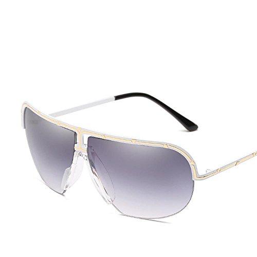 Aoligei Lunettes de soleil dames européennes shing lunettes de soleil mode JFCExJ