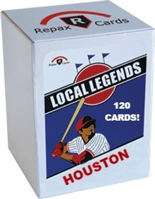 Houston Astros Local Legends Wax Box - 10 Packs of Vintage Baseball Cards, 12 Cards per Pack