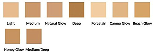 Mineral Sheer Tint Foundation Spf 20, New Makeup Tinted Moisturizer (Natural Glow) - 1 fl oz