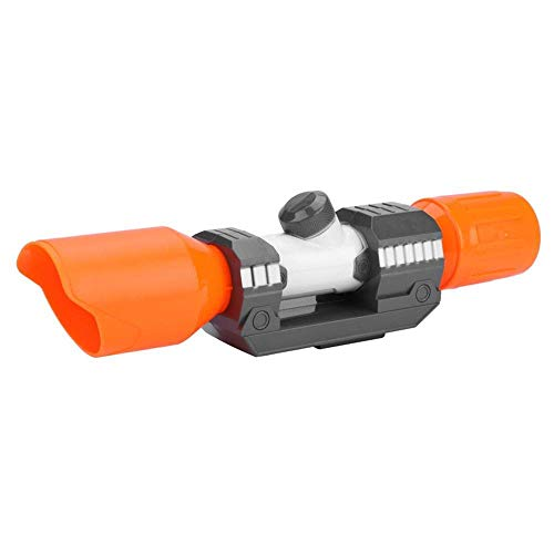- Fdit Plastic Scope Sight Attachment with Reticle Accessory for Nerf Modify Toy