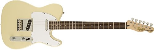 Squier by Fender Standard Telecaster Beginner Electric Guitar - Vintage Blonde