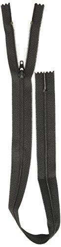 (COATS&CLARK F7218-BLK All-Purpose Plastic Zipper, 18
