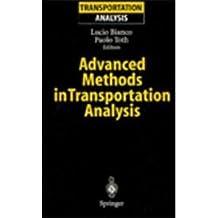 Advanced Methods in Transportation Analysis