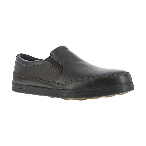 Florsheim Work Men's Stoss FS2620 Industrial and Construction Shoe, Brown, 11.5 D US ()