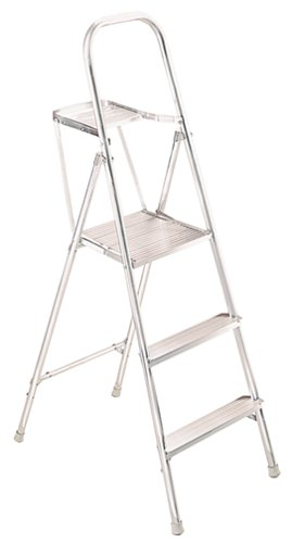 Werner 265 200-Pound Duty Rating Aluminum Platform Ladder, 5-1/2-Foot