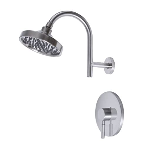 Premier 120092 Essen Single Handle Shower Faucet, PVD Brushed Nickel