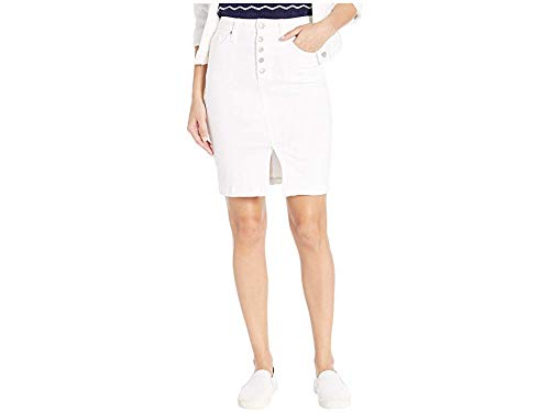 Joe's Jeans Women's The HR Pencil Skirt, Malka, White, 25 ()
