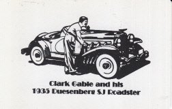 single-swap-playing-card-clark-gable-and-his-1935-duesenberg-sj-roadster