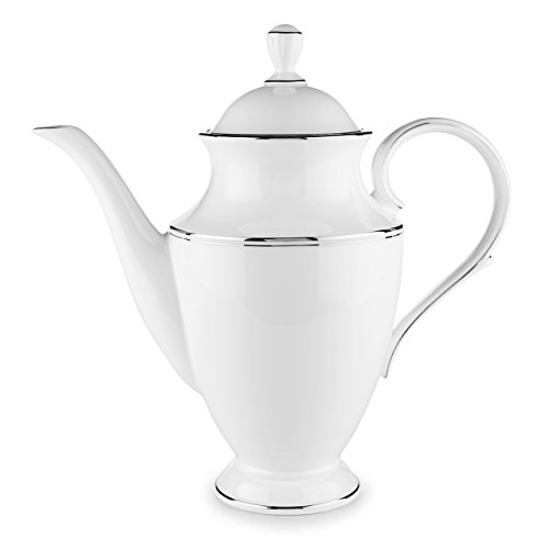 Platinum Coffee Pot - Lenox Federal Platinum Coffeepot