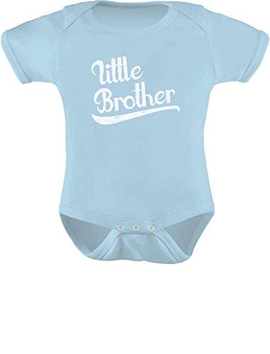 (TeeStars - Little Brother for Baby Boy Baby Bodysuit Newborn Aqua)