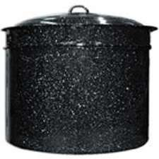 Granite Ware 6323-1 33-Quart Crab and Crawfish Cooker with Steamer/Drainer Insert, 3-Piece
