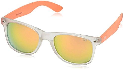 Dice Lunettes de soleil Multicolore - Clear/Orange