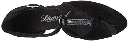 Diamant Damen Tanzschuhe 068-069-008, Women's Ballroom Dance Shoes Schwarz (Schwarz)