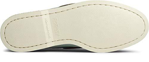 Sperry Men's Authentic Original 2-Eye Boat Shoe, Seafoam, 11.5 M US