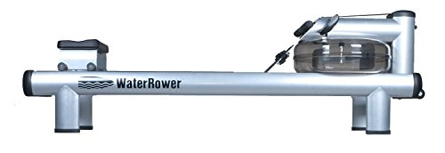 WaterRower 510-S4 Commercial M1 HiRise Rowing Machine in Steel – Water Rower – Water Rowing Ergometer