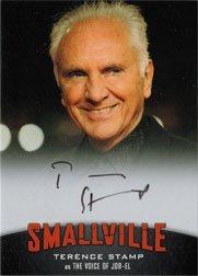 Smallville Seasons 7 thru 10 A14 Autograph Card Terence Stamp as Jor-El