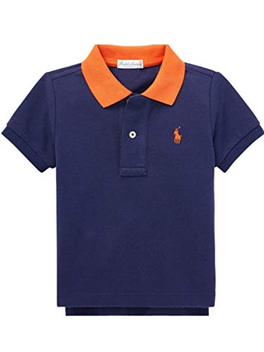 Polo Ralph Lauren Baby Boy's Short Sleeve Mesh T-Shirt, Boathouse Navy (18 MOS) ()