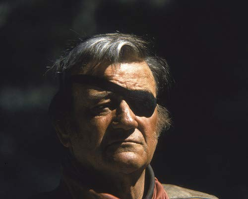 John Wayne in True Grit as Rooster Cogburn with eye patch portrait 11x14 Promotional Photograph