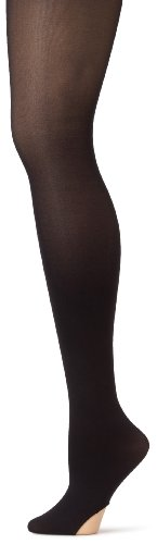 Capezio Women's Ultra Soft Transition Tight, Black, XX-Large