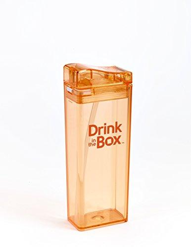 Precidio Design 1912OR Juice Container 12 oz Orange