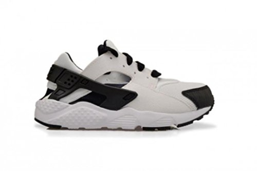 Nike Huarache Run (Td), Zapatos de Primeros Pasos para Bebés Blanco / Negro (White / Black-White)