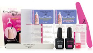 Dashing Diva Design FX French Wrap Manicure Kit
