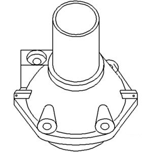 Massey Ferguson Tractor Main Drive Input Shaft Retainer Assembly Part No: A-1860889M1, 1860889M91, AM1860889M1, 1860889M91, 188847M92 (Shaft Retainer Assembly)