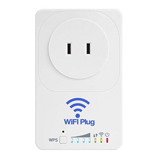 見守りコンセントWiFi-Plug 消費電力で独居老人の安否確認 無線LAN中継機 外出先からスマホで電源OFF
