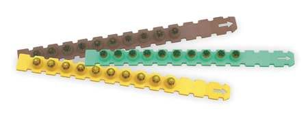 Load 27 Cal Strip - Ramset 3RS27-X3 3 x 10 Strips of 10 Green, Yellow, Red 27 cal Strip Loads