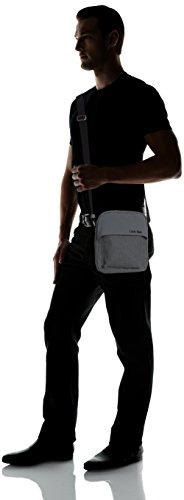 Calvin Klein Jeans Borsa Messenger, CASTLEROCK-PT (Grigio) - J5IJ500428