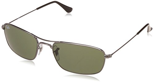 Ray-Ban UV Protected Oversized Men's Sunglasses – (0RB3307I00456|56|Crystal Green Color)