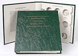 Littleton Eisenhower Ike Dollars 1971-1978 Album LCA11 by Littleton